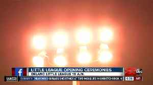 Delano Little League ready to play ball Saturday with opening ceremonies [Video]