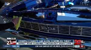Crusin' 4 Charity car show hits the streets of Bakersfield [Video]