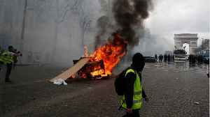 News video: Violence Flares In France As Yellow Vest Protests Enter Fourth Month