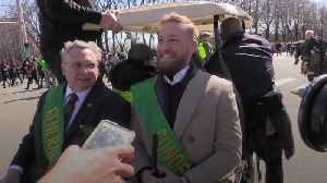 Conor McGregor leads St Patrick's Day parade in Chicago after Miami arrest [Video]