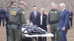 Border Advanced Training Facility Gets A Visit From The VP [Video]