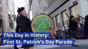 The First Saint Patrick's Day Parade Was On This Day [Video]