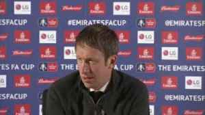 News video: Potter praises Swansea players' courage