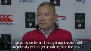 Eddie Jones frustrated by England's mental lapses [Video]