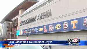 SEC Basketball Tournament Day 2 [Video]