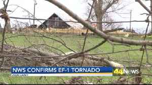 Confirmed EF-1 Tornado Touches Down In Morganfield [Video]