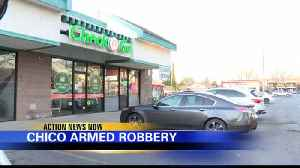 Chico Police searching for armed robbery suspect [Video]