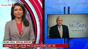 News video: Trump Attacks John McCain Over Obamacare Repeal Vote