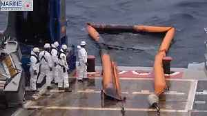 France rushes to contain Atlantic fuel spill [Video]