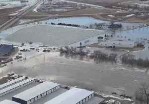 Nebraska Town of Valley Flooded After River Levels Reach Record High [Video]