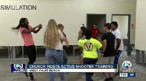 Church hosts active shooter training in West Palm Beach [Video]