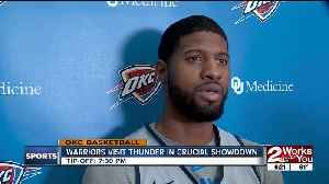 Warriors-Thunder Preview [Video]