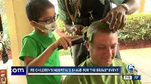 Heads shaved at Palm Beach Children's Hospital's 'Shave For The Brave' event [Video]