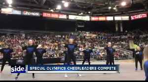 Special Olympics Cheerleaders perform at Idaho State Cheer Competition [Video]