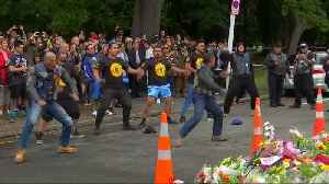 NZ bikers perfom Haka at memorial for shooting victims [Video]