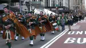 Drums, pipes and shamrocks: The St Patrick's Day Parade in New York City [Video]