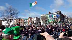 The Emerald Isle! Dublin celebrates St. Patrick's Day with its parade [Video]