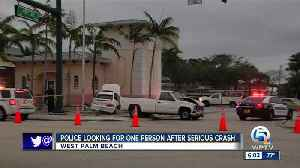 1 person hospitalized in alcohol-related crash in West Palm Beach [Video]