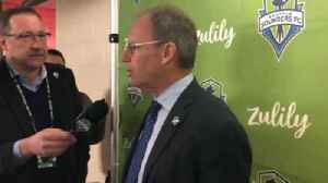 Sounders' Schmetzer: 'Chicago never quit, 'Pauno' does a good job' [Video]