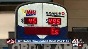 Winning $50 million Mega Millions ticket sold at Kansas City area QuikTrip [Video]