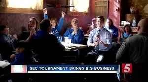 SEC Tournament brings big business to Nashville [Video]