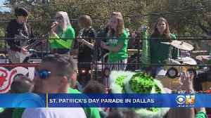 Tens Of Thousands Attend St. Patrick's Day Parade In Dallas [Video]