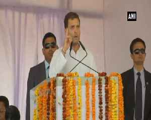 No space for truth in BJP Rahul Gandhi attacks PM Modi govt [Video]