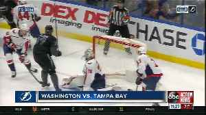 Alex Killorn's hat trick helps Tampa bay Lightning beat Washington Capitals 6-3 [Video]