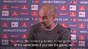 Lack of VAR at Swansea surprises Guardiola after controversial Man City comeback [Video]