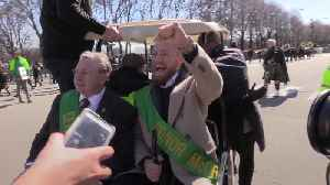Conor McGregor and Leo Varadkar lead St Patrick's Day parade in Chicago [Video]