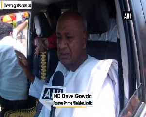 Congress to contest on 20 and JD S on 8 seats says Deve Gowda [Video]