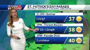 Video: Chilly, sunny start to St. Patrick's Day Parade [Video]