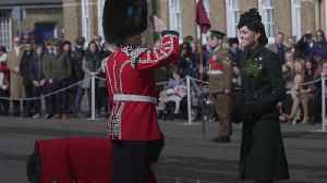 William and Kate honour New Zealand terror victims at St Patrick's Day parade [Video]