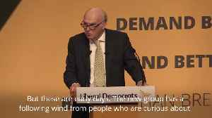 Cable sets out Lib Dem hopes to benefit from Tory and Labour splits [Video]