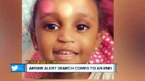 AMBER Alert search comes to an end [Video]