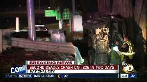 Second delay crash on I-805 in two days [Video]