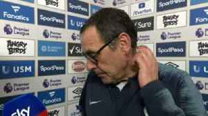Sarri: It was a strange defeat [Video]