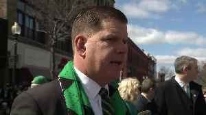 Mayor Walsh: 'Everyone's Irish today in Boston' [Video]