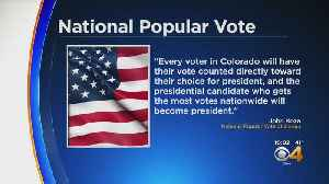 Jared Polis Signs Colorado Bill To Join National Popular Interstate Vote Compact [Video]