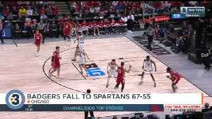 Badgers fall to Michigan State in Big 10 semis [Video]