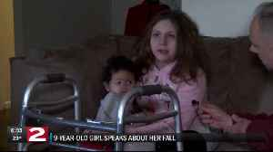 9-YEAR OLD GIRL SPEAKS TO NEWSCHANNEL 2 EXCLUSIVELY [Video]