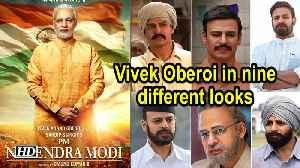PM Narendra Modi  | Vivek Oberoi in nine different looks [Video]