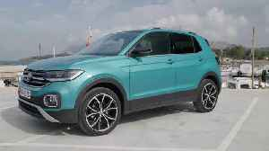 Volkswagen T-Cross Design in Makena Turquoise [Video]