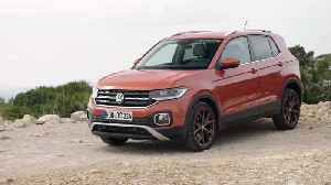 Volkswagen T-CROSS Design in Energetic Orange [Video]