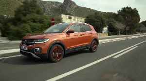 Volkswagen T-CROSS in Energetic Orange Driving Video [Video]