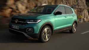 Volkswagen T-Cross in Makena Turquoise Driving Video [Video]