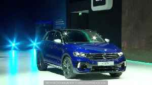 The new Volkswagen T-Roc R premiere at the Geneva Motor Show 2019 [Video]