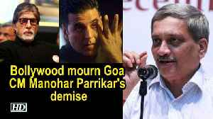 Bollywood mourn Goa CM Manohar Parrikar's demise [Video]