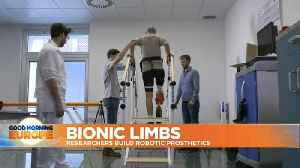 EU-funded prosthesis aims to make life easier for amputees [Video]
