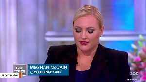 Meghan McCain Slams Trump's 'Pathetic Life,' Says He'll 'Never Be A Great Man' [Video]